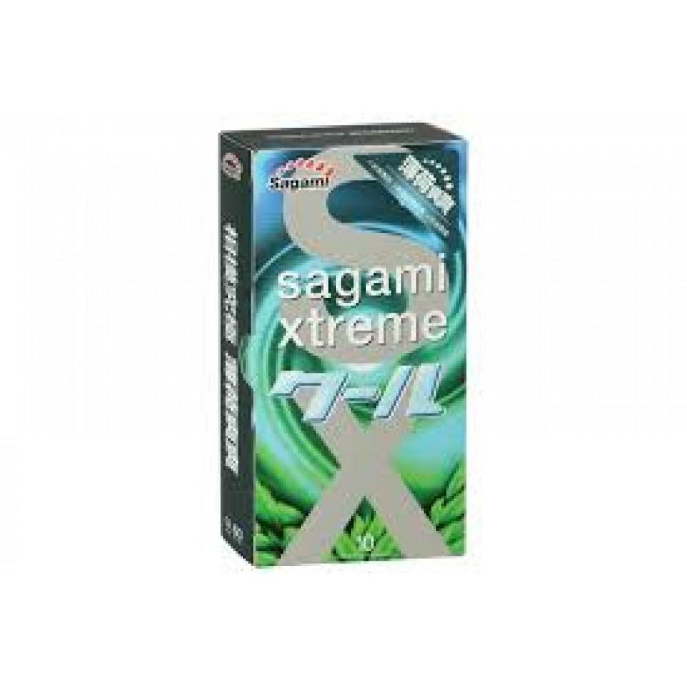 "Презервативы Sagami ""Xtreme Mint"" 10 шт."