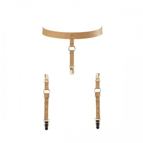 Bijoux Подтяжки для нижнего белья и чулок коричневые 251