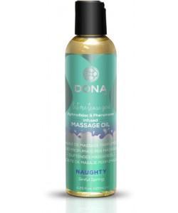 Массажное масло с феромонами DONA Naughty Sinful Spring 125 мл