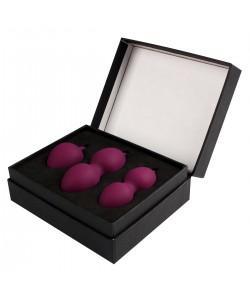 Набор фиолетовых вагинальных шариков «Nova Ball» Svakom со смещенным центром тяжести