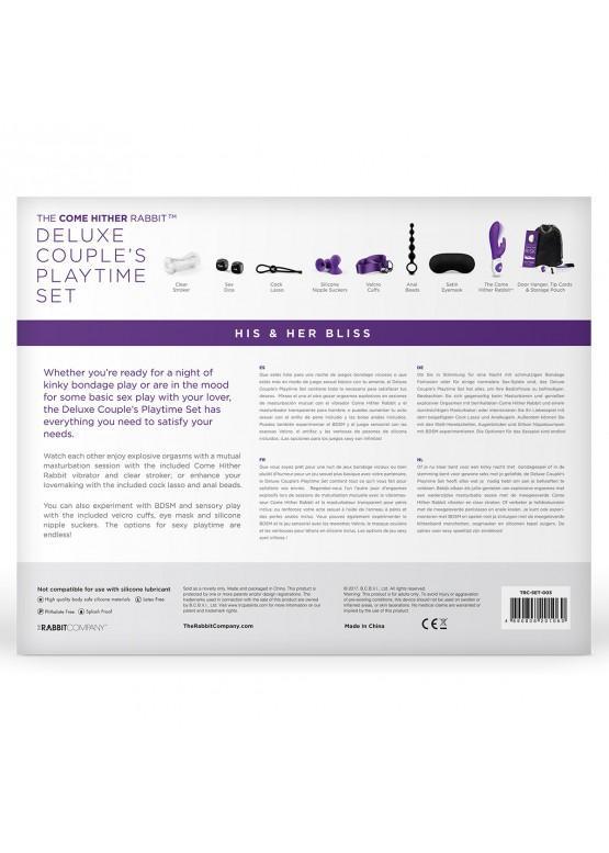 Игровой набор для пары Deluxe His & Her Bliss 11 предметов TRC-SET-003