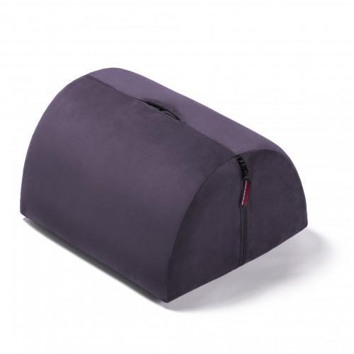 Liberator R-BonBon Toy Mount Подушка для любви с отверстием для секс-игрушки, фиолетовый вельвет