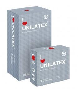 ПРЕЗЕРВАТИВЫ UNILATEX DOTTED с точечной поверхностью 12 шт