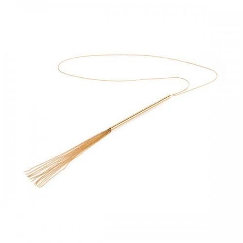 Bijoux Плеть ожерелье Magnifique золотое