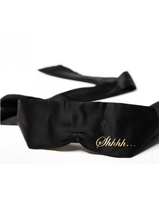 Bijoux Повязка на глаза SHHH - BLINDFOLD черная