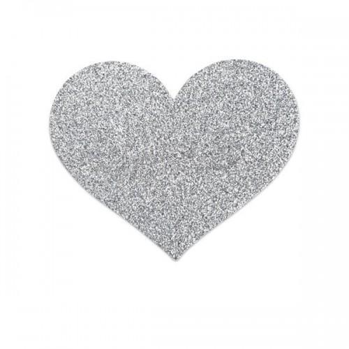 Bijoux Украшение на грудь Flash Heart серебряное