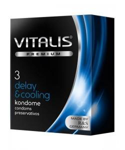 VITALIS №3 Delay&cooling Презервативы с охлаждающим эффектом