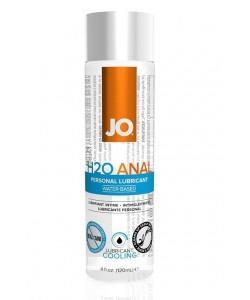 Анальный охлаждающий и обезболивающий лубрикант на водной основе JO Anal H2O COOLING 120 мл.