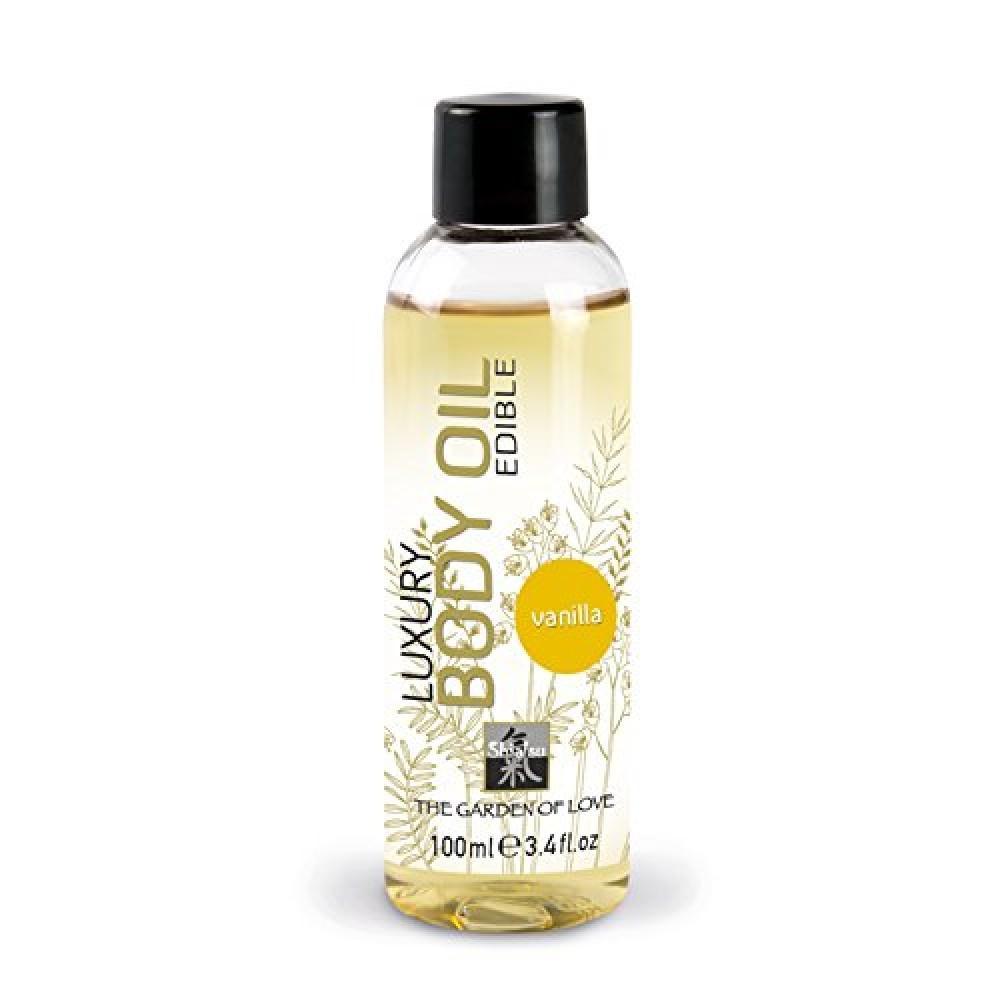 """Съедобное массажное масло """"Shiatsu Luxury Body Oil"""" Ваниль"""