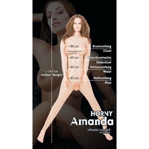 Надувная секс-кукла Horny Amanda