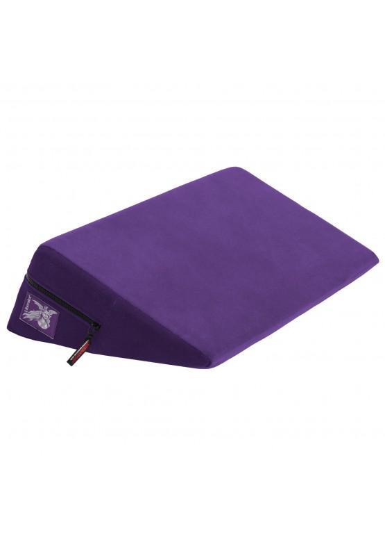 Liberator Retail Wedge Подушка для любви малая, фиолетовая микрофибра