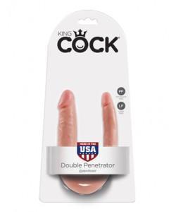 PipeDream King Cock Double Penetrator Фаллоимитатор реалистик двусторонний телесный 33,5 x 2,8 см