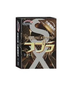 "Презервативы Sagami ""Xtreme Cobra"" 3 шт."