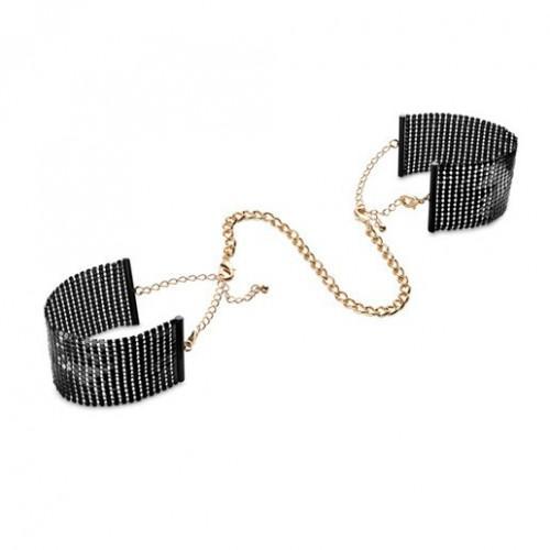 Bijoux Наручники металлические черные 134