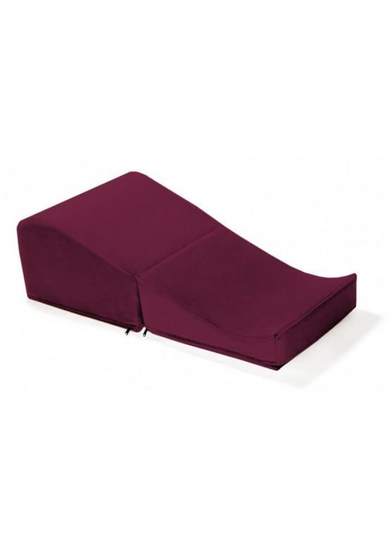 Liberator Retail Flip Ramp Подушка для любви рубиновая с чехлом из вельвета
