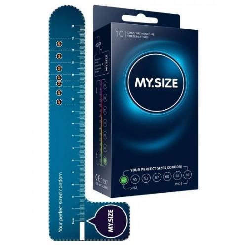 """Презервативы """"MY.SIZE"""" 178х53 мм 10 шт"""
