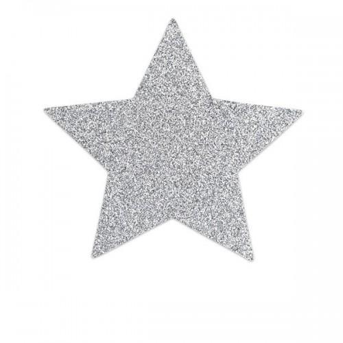 Bijoux Украшение на грудь Flash Star серебряное