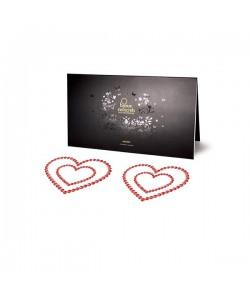 Bijoux Indiscrets Украшение на грудь Mimi Heart красное