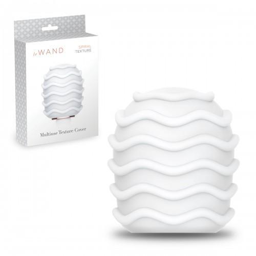 Текстурированная насадка для люкс-массажеров le Wand SPIRAL