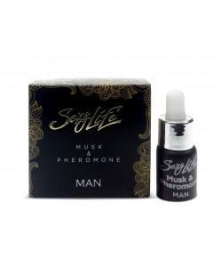 Концентрированные феромоны с мускусом Musk&Pheromone 5 мл для мужчин