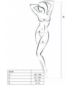 КОМБИНЕЗОН ЛИЛЕЙНАЯ Я (PASSION), размер S/XXL, арт. 03739