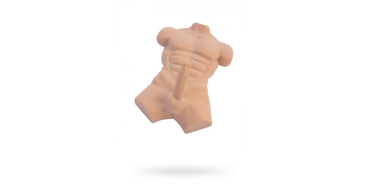 Розовые реалистичный мужской торс секс игрушки