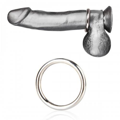 Стальное эрекционное кольцо 5,5 см STEEL COCK RING BLM4004