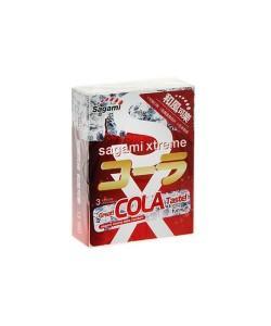 """Презервативы Sagami """"Xtreme Cola"""" 3 шт."""