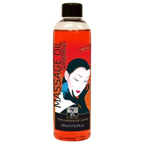 """Согревающее массажное масло """"Shiatsu Massage Oil Warming"""" 250 мл"""