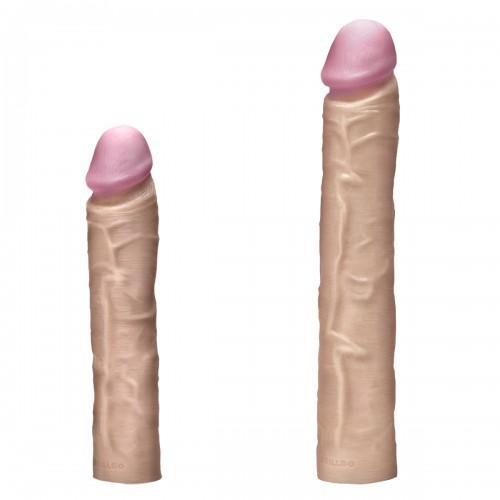 Набор секс-игрушек DRILLDO DELUXE SET с двумя фаллоимитаторами, 7 предметов DDS-003