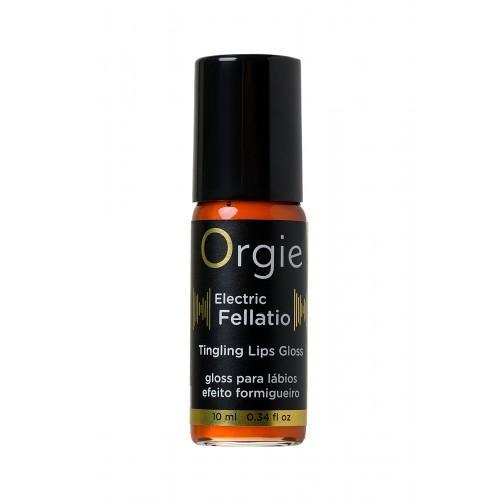 Блеск для губ с вибрирующим эффектом Orgie Sexy Vibe Electric Fellatio, 10 мл