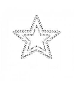 Bijoux Indiscrets Украшение на грудь Mimi Star серебряное