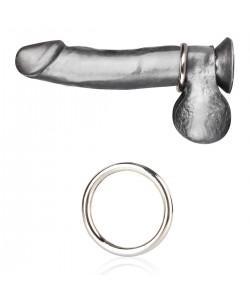 Стальное эрекционное кольцо 4,5 см STEEL COCK RING BLM4002
