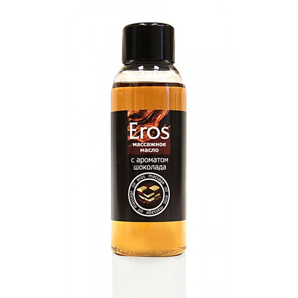 """Съедобное массажное масло Bioritm """"Eros"""" Шоколад 50 мл"""