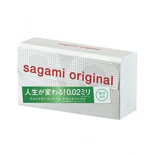 """Самые тонкие презервативы Sagami Original """"002"""" 12 шт."""