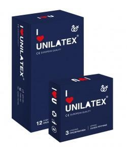ПРЕЗЕРВАТИВЫ UNILATEX EXTRA STRONG особопрочные, 12 шт., арт. 3022