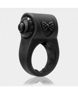 Виброкольцо Screaming O PrimO Tux Black