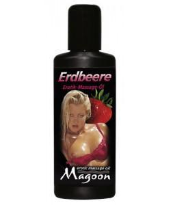 "Массажное масло Magoon ""Strawberry"", 50 мл"