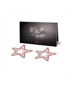 Bijoux Indiscrets Украшение на грудь Mimi Star красное