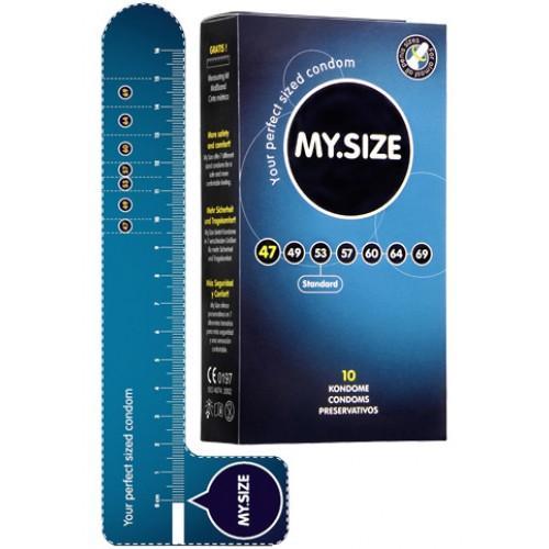 """Презервативы """"MY.SIZE"""" 223х64 мм 10 шт"""