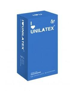 """ПРЕЗЕРВАТИВЫ UNILATEX """"NATURAL PLAIN"""" классические, 12 шт., арт. 3013"""