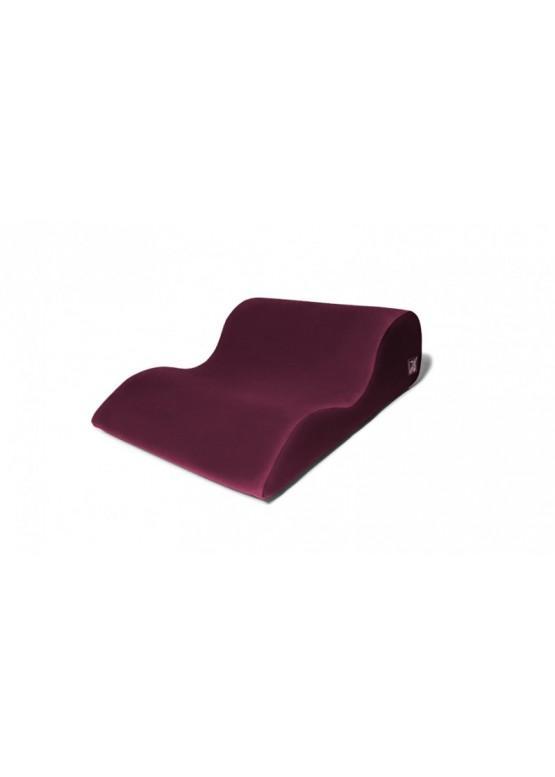 Liberator Retail Hipster Подушка для любви большая, рубиновый вельвет