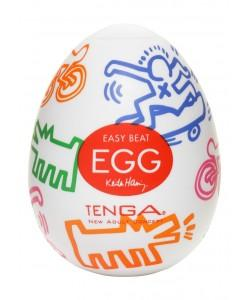 Мастурбатор Tenga X Keith Haring Egg - Street