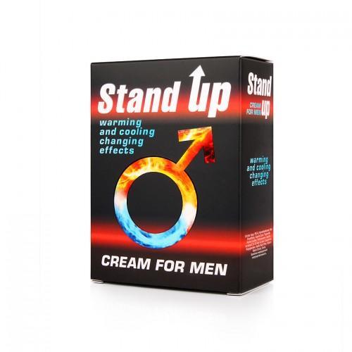 """Возбуждающий крем для мужчин Sex Expert """"STAND UP"""""""