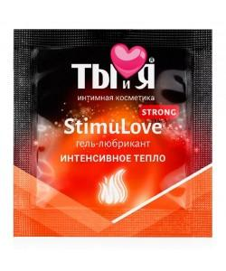 """Возбуждающий лубрикант Bioritm """"Stimulove Strong"""" 4 г"""