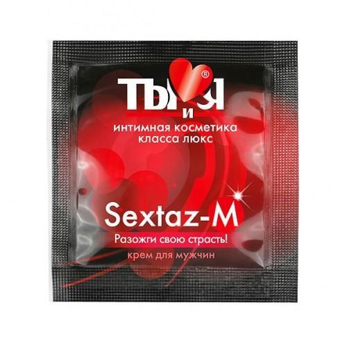 """Возбуждающий крем для мужчин Bioritm """"Sextaz-M"""" 1,5 г"""