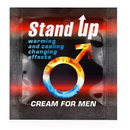 """Возбуждающий крем для мужчин Sex Expert """"STAND UP"""" 1,5 гр"""