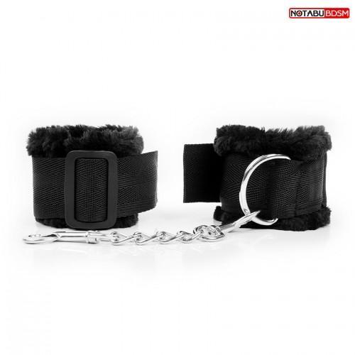 """Мягкие наручники с мехом """"Notabu"""" NTB-80579"""