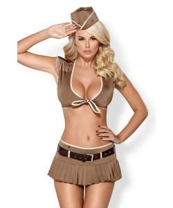 OBSESSIVE Костюм армейский Soldier costume 5-psc L/XL