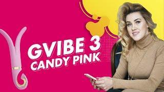 Многофункциональный вибромассажер Gvibe 3 Pink